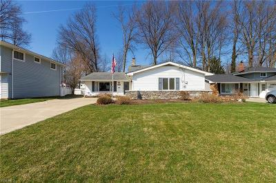 North Olmsted Single Family Home For Sale: 23506 Sharon Dr
