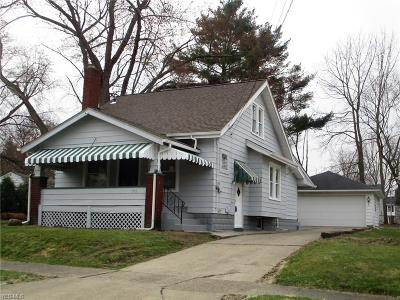 Warren Single Family Home For Sale: 1172 McKinley St Northeast