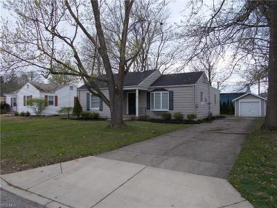 Lorain County Single Family Home For Sale: 32 West Lincoln St