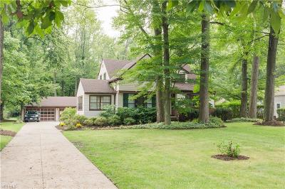 North Olmsted Single Family Home For Sale: 4373 Clague Rd