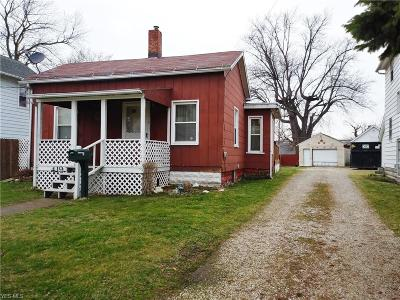 Ashtabula Single Family Home For Sale: 419 West 52nd St