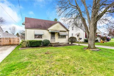 Struthers Single Family Home Active Under Contract: 442 10th Street