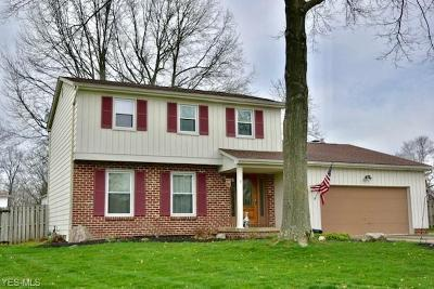 Boardman OH Single Family Home For Sale: $169,999