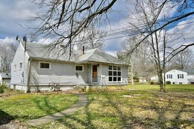 Single Family Home For Sale: 1312 Keefer Road