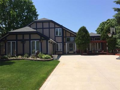 Rocky River Single Family Home For Sale: 3494 Kings Mill Run