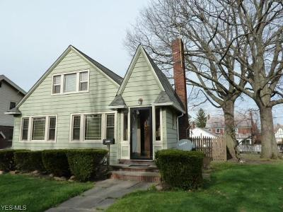 Cleveland Single Family Home For Sale: 4635 Landchester Rd