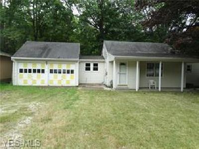 Ashtabula Single Family Home For Sale: 2814 S Ridge Road