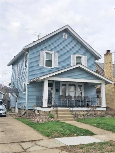 Massillon Single Family Home For Sale: 826 Mathias Ave Northeast