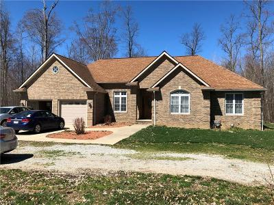 Huron County Single Family Home For Sale: 1287 Fitchville River Rd