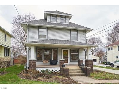 Wadsworth Multi Family Home For Sale: 469 Broad St