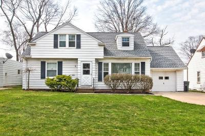 Lyndhurst Single Family Home For Sale: 4980 Anderson Rd