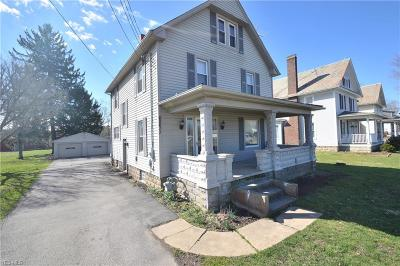 Leetonia Single Family Home Active Under Contract: 40611 State Route 344