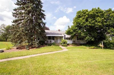 Medina Single Family Home For Sale: 3521 Poe Rd