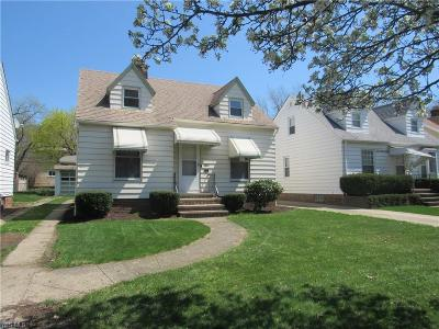 Cleveland Single Family Home For Sale: 3407 West 150th St