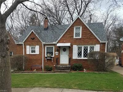 Single Family Home Contingent: 14730 Orchard Park Ave