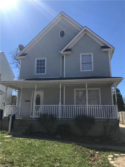 Cleveland Single Family Home For Sale: 4306 West 61st St