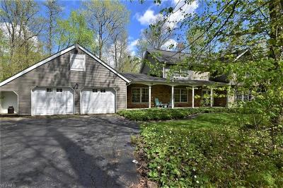 Chagrin Falls Single Family Home For Sale: 16455 Lucky Bell Ln