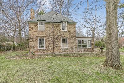 Willoughby Hills Single Family Home Contingent: 31827 Chardon Rd