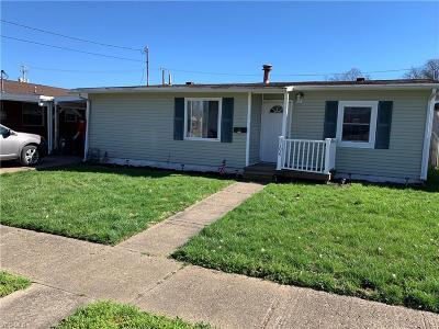 Zanesville OH Single Family Home For Sale: $67,900