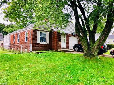 Parma Single Family Home For Sale: 3203 Fortune Ave