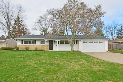 Rocky River Single Family Home Contingent: 2772 Country Club Blvd