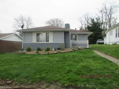 Zanesville OH Single Family Home For Sale: $79,000