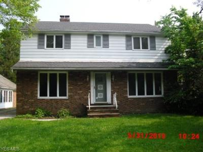 Shaker Heights Single Family Home For Sale: 19213 Scottsdale Blvd