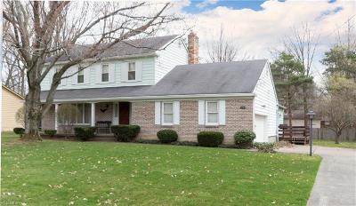 Youngstown Single Family Home For Sale: 5155 Sampson Dr