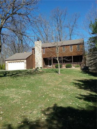 Hinckley Single Family Home For Sale: 2130 Hinckley Hills Rd