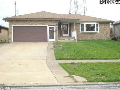 Parma OH Single Family Home For Sale: $164,900