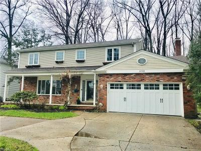 Bay Village Single Family Home For Sale: 31501 Lake Rd
