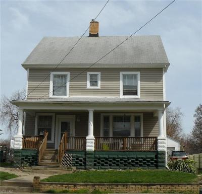Conneaut Single Family Home For Sale: 436 Buffalo Street