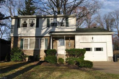 Youngstown Single Family Home For Sale: 4637 Yarmouth Ln