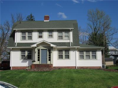 Zanesville Single Family Home For Sale: 1926 Norwood