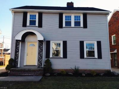 Cleveland Single Family Home For Sale: 3126 Ashwood Rd