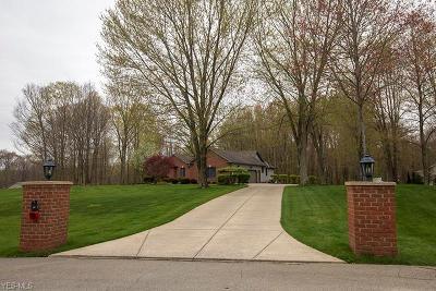 Mahoning County Single Family Home For Sale: 1230 Sharrott Creek Dr