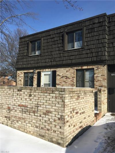 Brecksville, Broadview Heights Condo/Townhouse For Sale: 611 Tollis #5-41