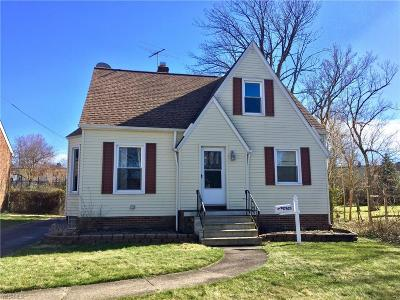 Cleveland OH Single Family Home Contingent: $149,900