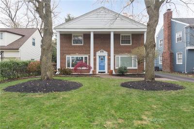 Rocky River Single Family Home For Sale: 1029 Homeland Dr
