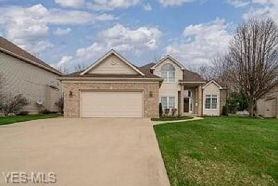 Strongsville Single Family Home Contingent: 11303 Woodrun Dr