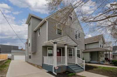 Cleveland Single Family Home For Sale: 1362 West 76th St