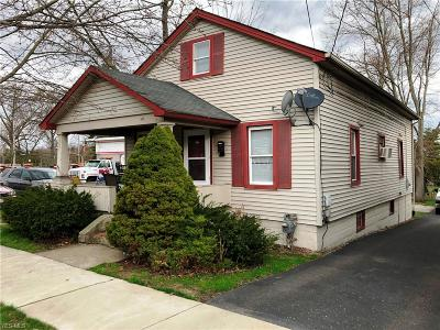 Canfield Single Family Home For Sale: 16 East Main St