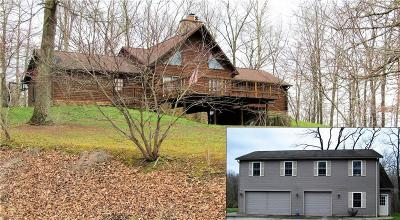 Belpre Single Family Home For Sale: 1895 Dugan Rd