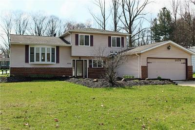Twinsburg Single Family Home Contingent: 11178 Heritage Dr