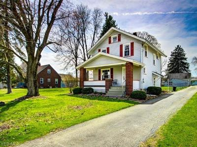 Poland Single Family Home For Sale: 8306 Youngstown Pittsburgh Road