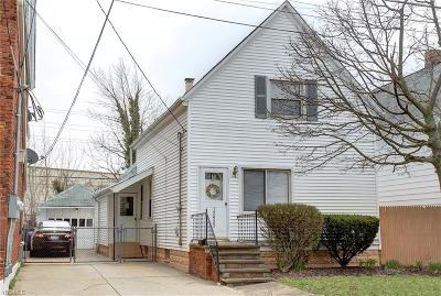 Bay Village, Rocky River, Fairview Park, Westlake, Lakewood Single Family Home For Sale: 12923 Plover St