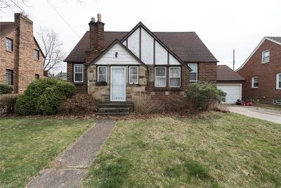 Rocky River Single Family Home For Sale: 19355 Malvern Ave