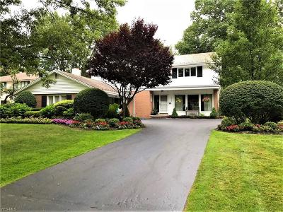 Shaker Heights Single Family Home For Sale: 2728 Sulgrave Rd