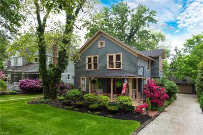 Chagrin Falls Single Family Home For Sale: 84 E Washington Street
