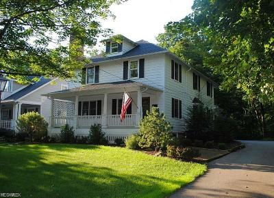 Chagrin Falls Single Family Home Contingent: 420 Bell St
